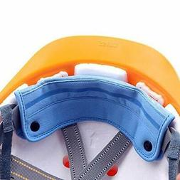 2 Pieces Washable Snap On Hard Hat Sweatband Liner/Sweat Abs