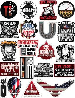 20 Hard Hat & Tool Box Vinyl Stickers – Stickers for Adult