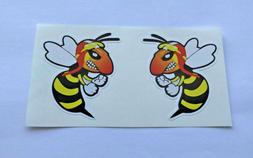 Angry Wasps Stickers for Bumper Travel Laptop Tablet Suitcas