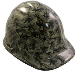 Army Men Khaki Hydro Dipped Cap Style Hard Hat with Ratchet