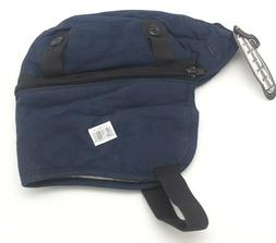BOB DALE HARD HAT LINERS with Zip Off Extensions Navy NWT