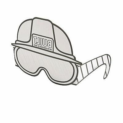 color your own construction vbs hard hats