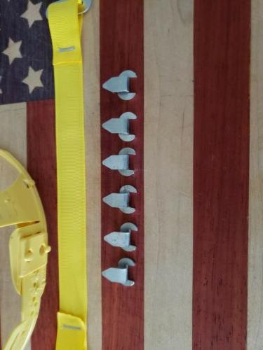 hard hat liner replacement clips only six