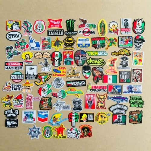 super mexican hard hat stickers 82 mexico