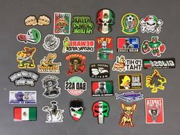 MEXICAN Hard Hat Stickers 30+ MEXICO HardHat Sticker & Decal