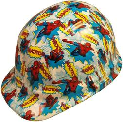 Spider Man Hydro Dipped Cap Style Hard Hat with Ratchet Susp