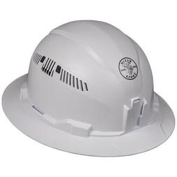 Klein Tools 60401 Hard Hat, Vented, Full Brim Style