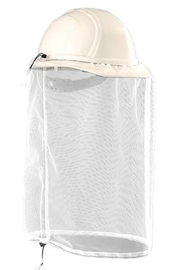 Occunomix V897 Insect Net,White Mesh, For Hard Hats